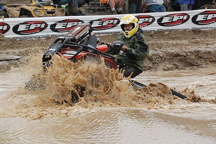 Mike Poolman, Arctic Cat ATV engineer and mud bogger