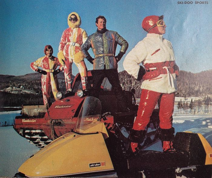 TGIF the 13th and the Ski-Doo folks are on the prowl