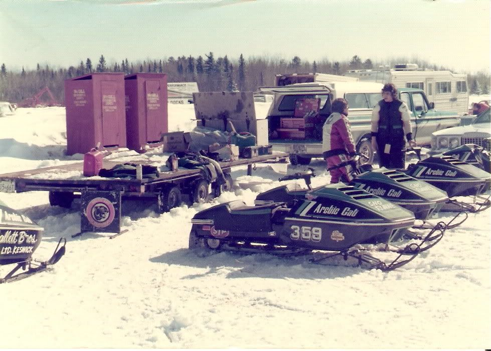 Arctic Cat racer and dealer Doug Hofland. Photo from Kyle Hofland.