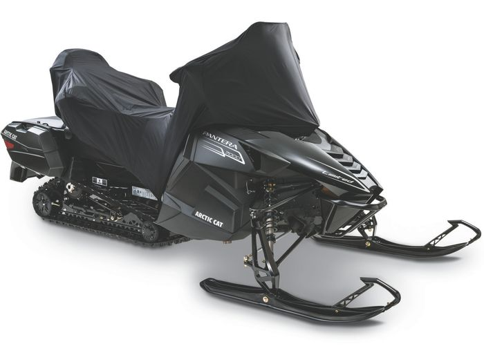 Arctic Cat Half Cover for Pantera snowmobiles.