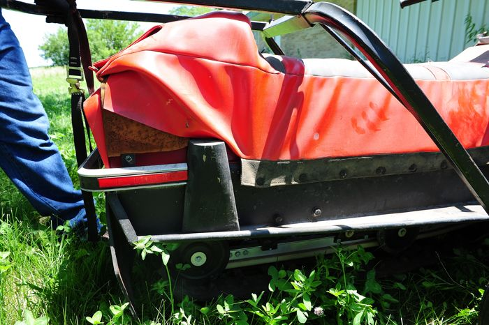 Prototype Scorpion Sierra snowmobile for 1982. Photo by ArcticInsider.com