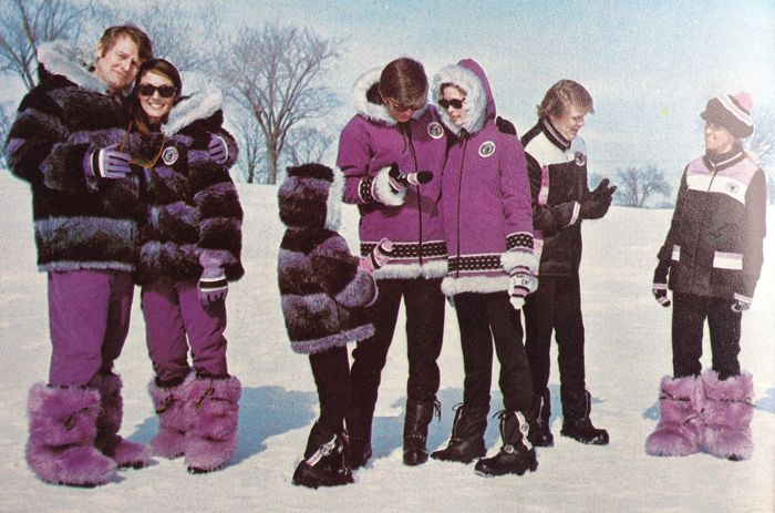 TGIF: The vintage Arctic Cat Arcticwear group.