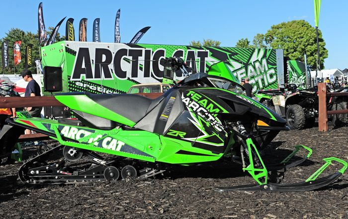 2015 Arctic Cat ZR 4000RR snowmobile. Photo by ArcticInsider.com