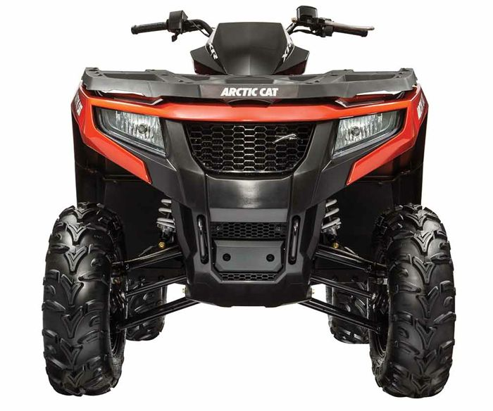 2015 Arctic Cat XR model ATVs. Photo posted by ArcticInsider.com