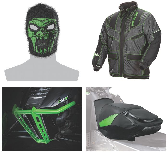 Arctic Cat's 2015 snowmobile gear. Posted by ArcticInsider.com