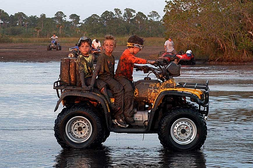TGIF and the kids can handle ATV safety precautions.