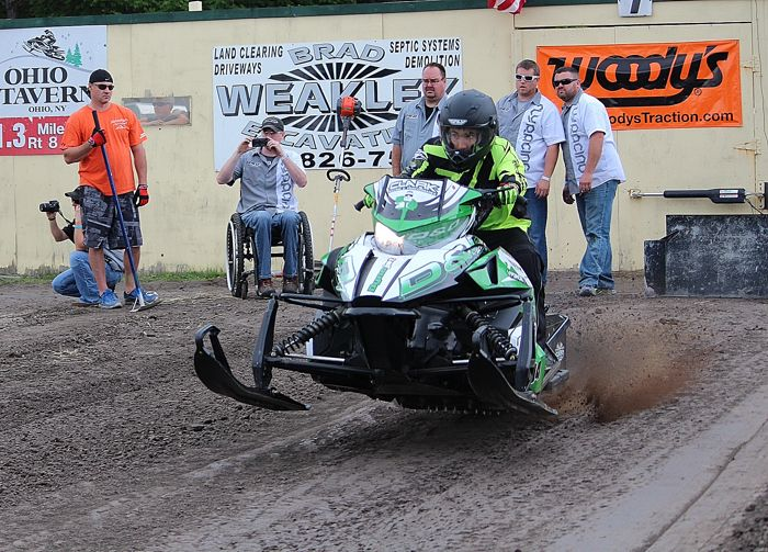 Team Arctic Cat's Dylan Roes. D&D Racing. Photo by ArcticInsider.com