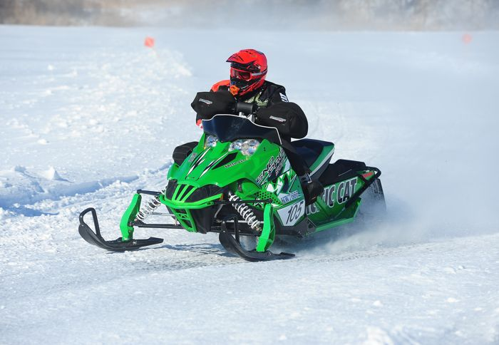 Ryan Trout, Christian Bros. Racing/Team Arctic Cat. Photo by ArcticInsider.com