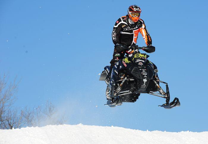 David Joanis, Christian Bros. Racing/Team Arctic Cat. Photo by ArcticInsider.com