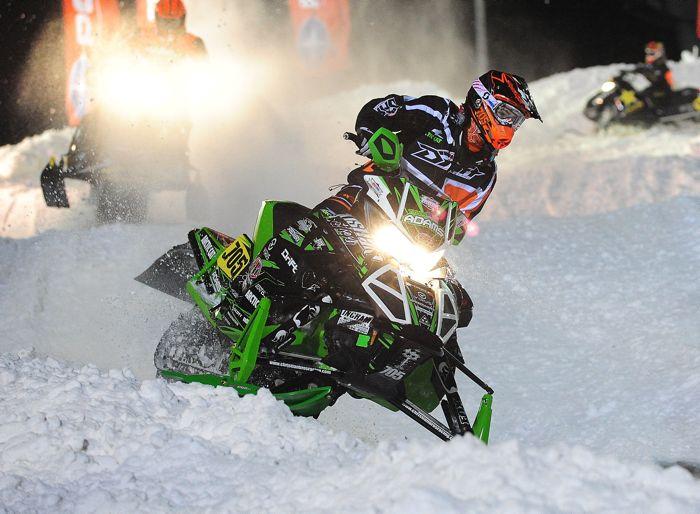 Tyler Adams, Christian Bros. Racing/Team Arctic Cat. Photo by ArcticInsider.com