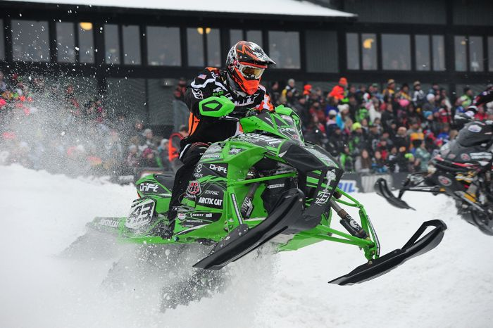 Logan Christian, Christian Bros. Racing/Team Arctic Cat. Photo by ArcticInsider.com