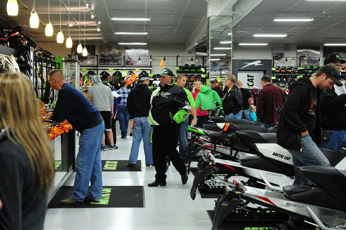 2014 Country Cat Open House for Arctic Cat dealership. Photo by ArcticInsider.com