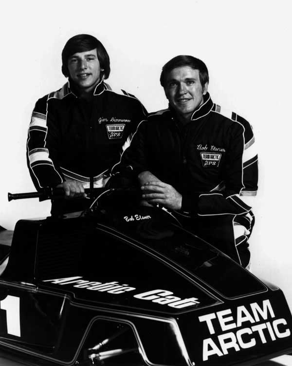 Team Arctic Sno Pro drivers Jim Dimmerman and Bob Elsner. Photo posted by ArcticInsider.com