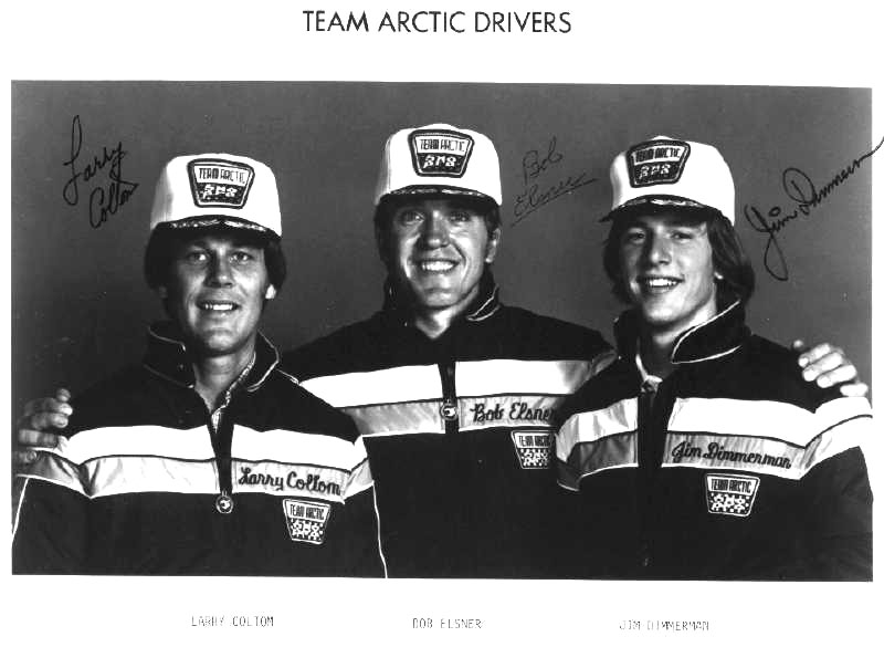 Team Arctic Cat's Larry Coltom, Bob Elsner and Jim Dimmerman. Posted by ArcticInsider.com