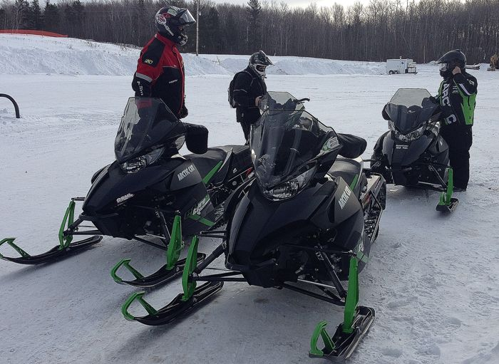 Arctic Cat ZR6000 HERO Ride Requirement: handlebar muffs.