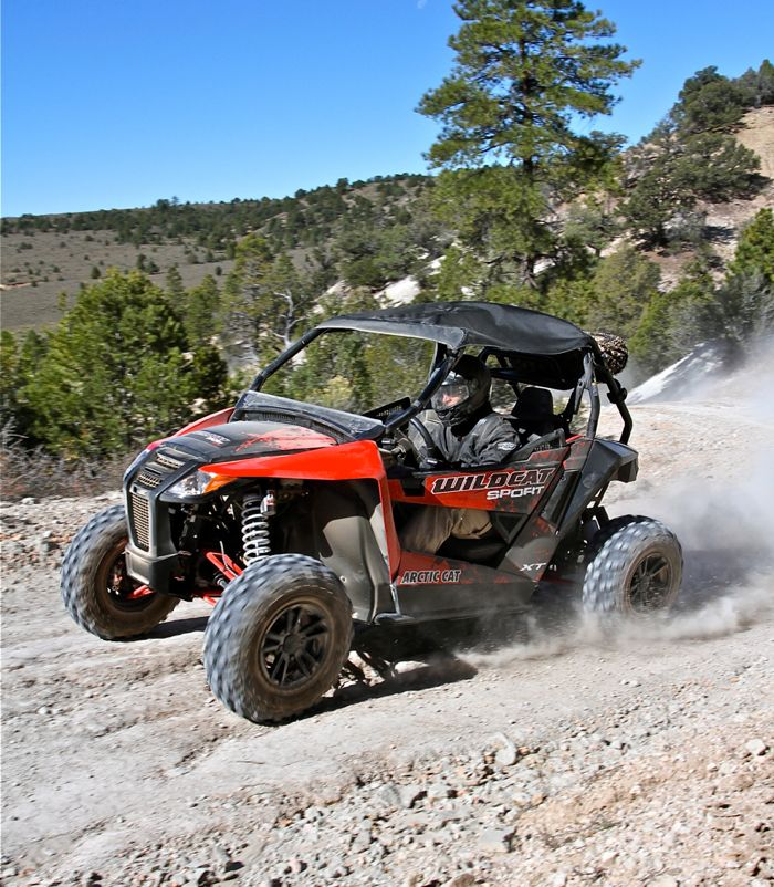 Arctic Cat Wildcat Sport UTV side-by-side. Photo by Pat Bourgeois