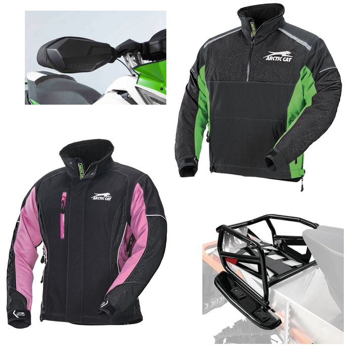 New Arctic Cat snowmobile gear and accessories. Posted by ArcticInsider.com