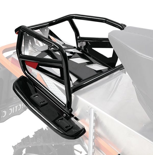 Arctic Cat Expedition Rack for snowmobiles. Posted by ArcticInsider.com