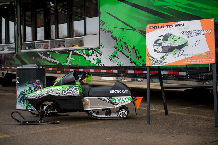 Christian Bros. Racing-Arctic Cat ZR120 giveaway