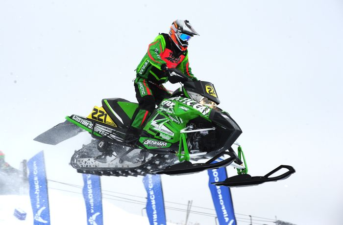 Team Arctic Cat's Dan Benham. Photo by ArcticInsider.com