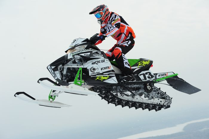 Team Arctic Cat's Lee Butler wins OldGuysPro. Photo by arcticinsider.com