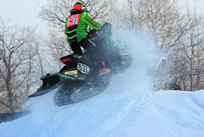 Team Arctic Cat's Carson Alread wins Duluth. Photo by ArcticInsider.com
