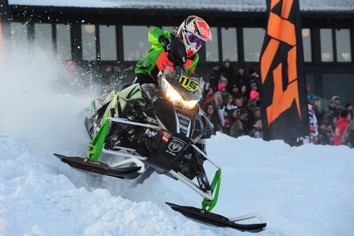 Team Arctic Cat's Trent Wittwer wins Duluth. photo by ArcticInsider.com