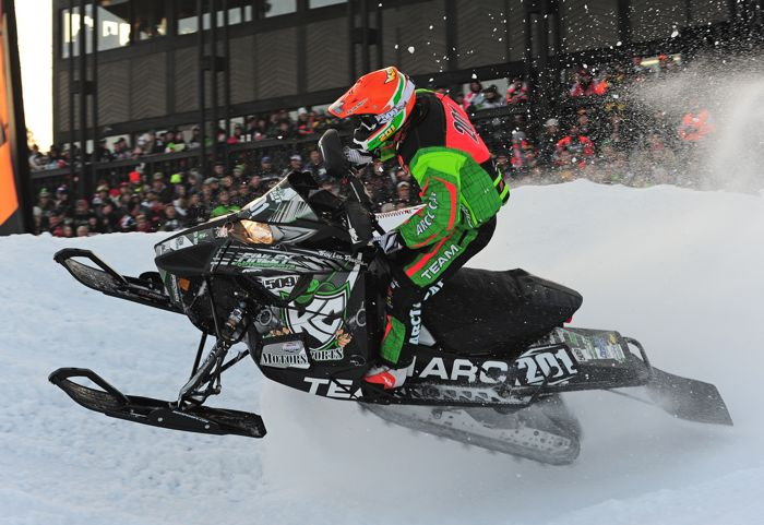 Team Arctic Cat's Travis Kern. Photo by ArcticInsider.com