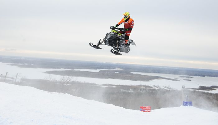 David Joanis, Christian Bros. Racing/Team Arctic Cat. Photo by ArcticInsider.com