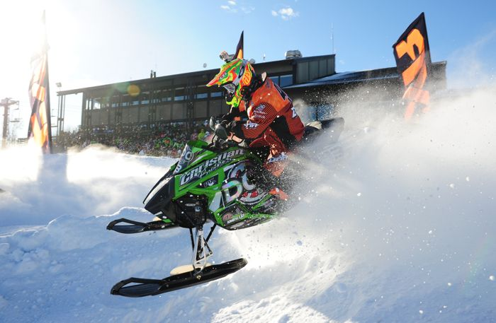 Logan Christian, Christian Bros. Racing-Team Arctic Cat. Photo by ArcticInsider.com