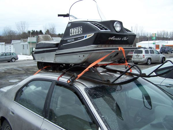 TGIF: a roof-mounted Arctic Cat Lynx