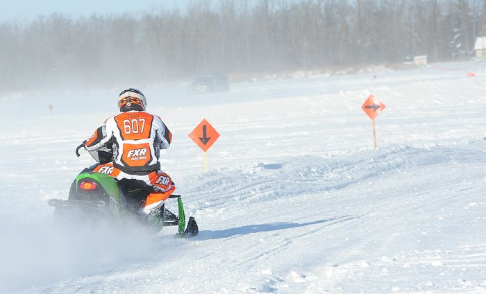 Team Arctic Cat's Jordan Torgerson. Photo by ArcticInsider.com