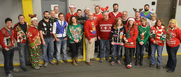 2014 Arctic Cat Engineering Ugly Sweater Contest