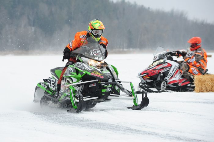 Team Arctic Cat's Logan Christian at Pine Lake. Photo by ArcticInsider.com