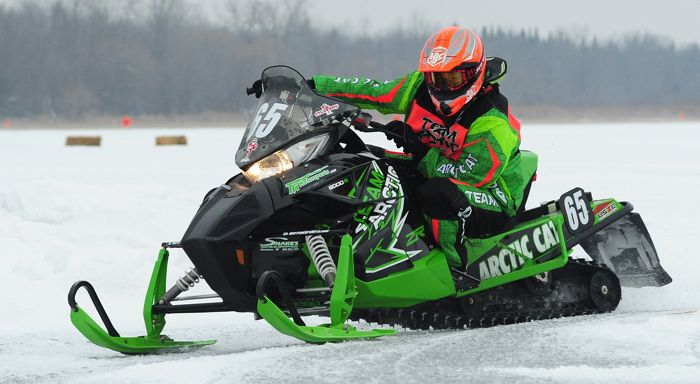 Team Arctic Cat's Casey Pries. Photo by ArcticInsider.com