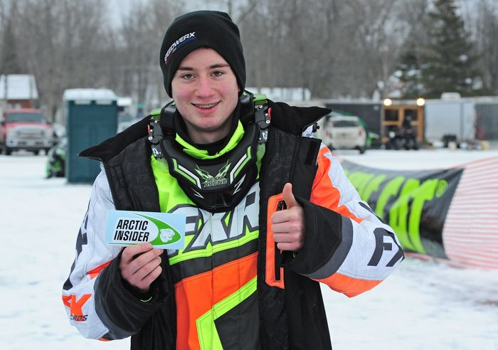 Team Arctic Cat's Hunter Houle. Photo by ArcticInsider.com