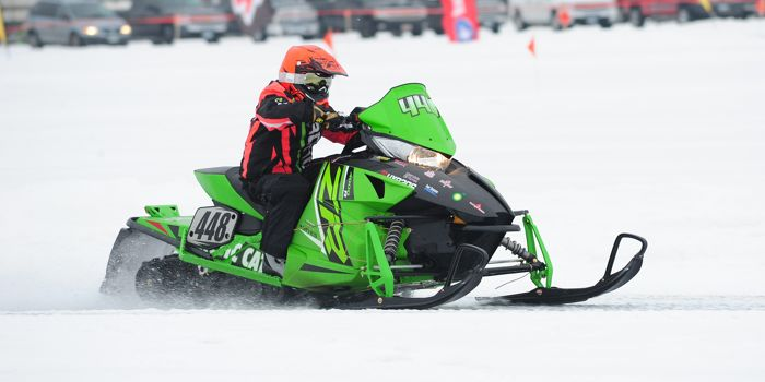 Team Arctic Cat's Ean Voigt. Photo by ArcticInsider.com
