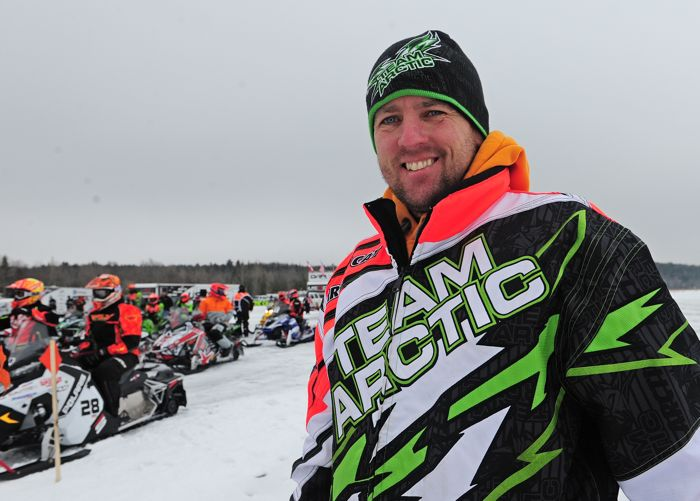 Team Arctic Cat's Chad Dyrdahl. Photo by ArcticInsider.com