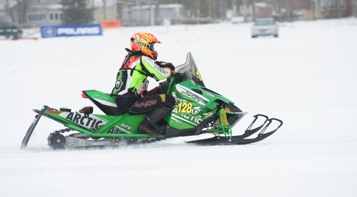 Team Arctic Cat's Marty Feil. Photo by ArcticInsider.com