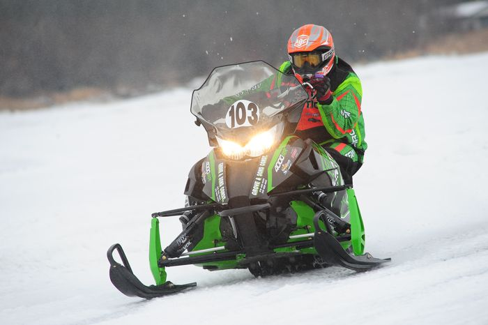 Team Arctic Cat's Jeremy Grove. Photo by ArcticInsider.com