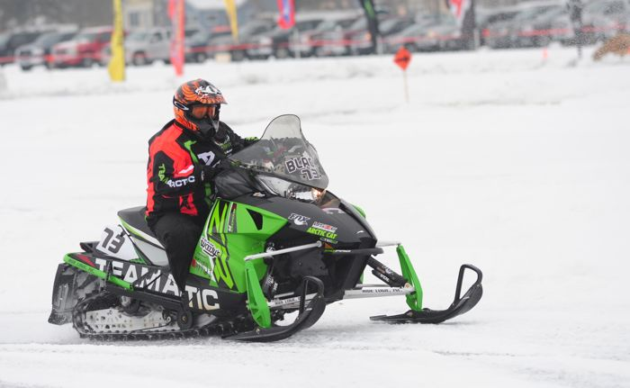 Team Arctic Cat's Jodie Black. Photo by ArcticInsider.com