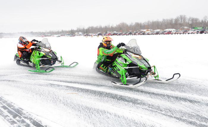 Team Arctic's Lance Efteland and Dyland Stevens. By ArcticInsider.com