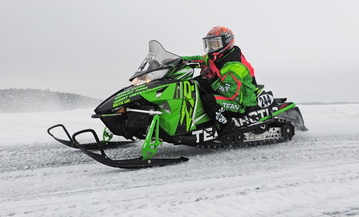 Team Arctic Cat's Brad Naplin. Photo by ArcticInsider.com