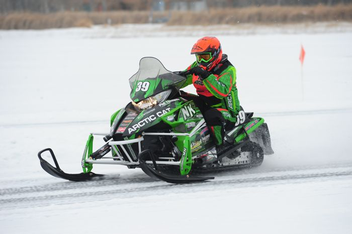 Team Arctic Cat's Cody Kallock. Photo by ArcticInsider.com