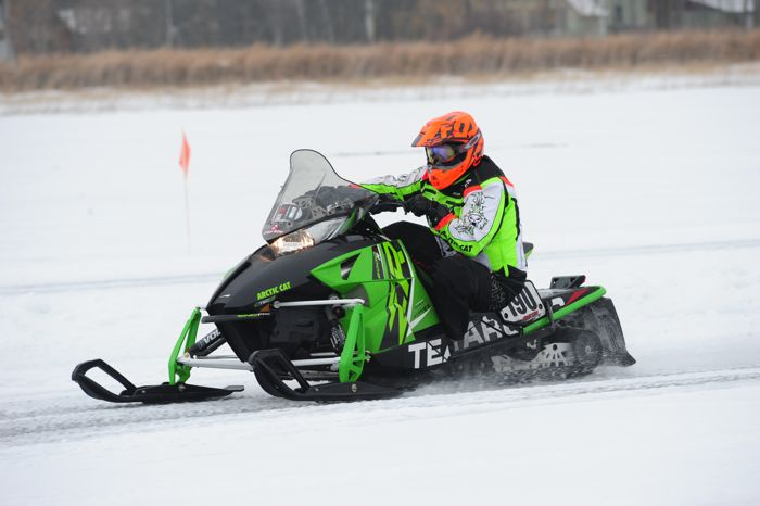 Team Arctic Cat's Jon Arneson. Photo by ArcticInsider.com