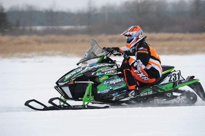 Team Arctic Cat's Ben Langaas. Photo by ArcticInsider.com