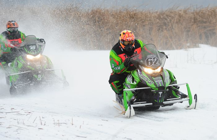 Team Arctic Cat's Lance Efteland. Photo by ArcticInsider.com