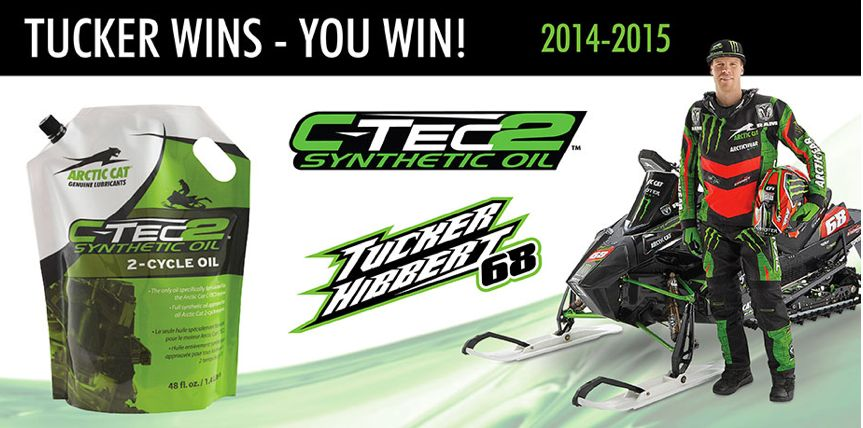 Tucker Hibbert C-TEC2 Oil Promotion