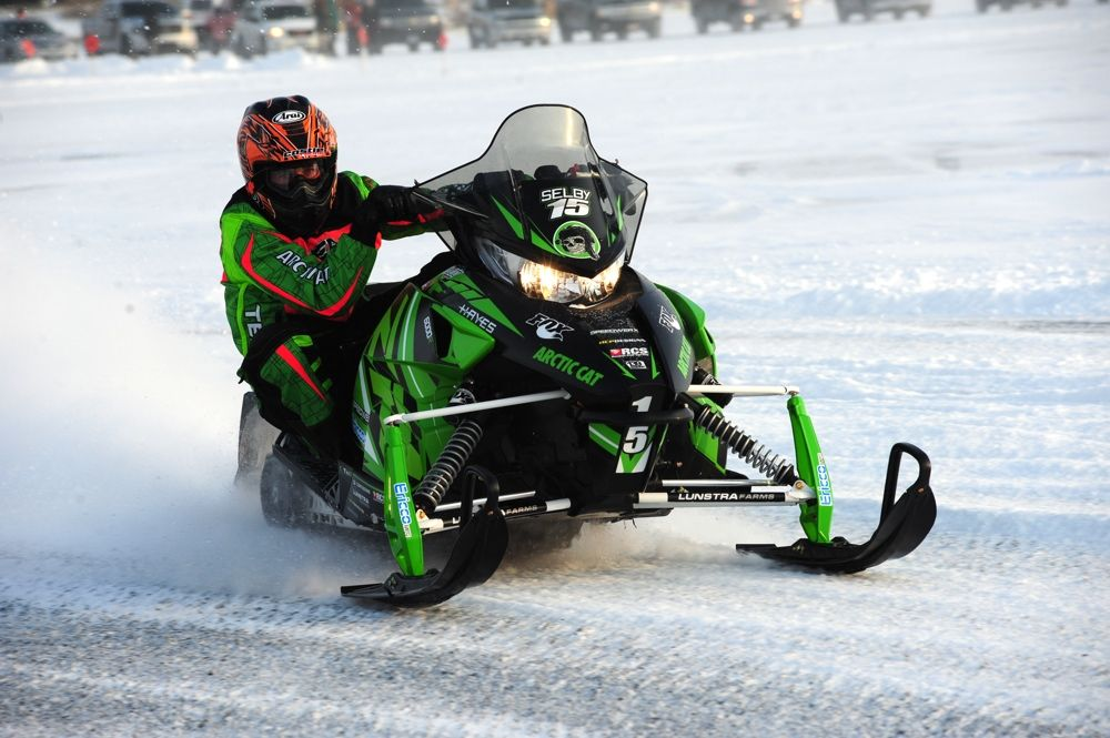 Team Arctic's Wes Selby wins Pro Open in Detroit Lakes. Photo: ArcticInsider.com