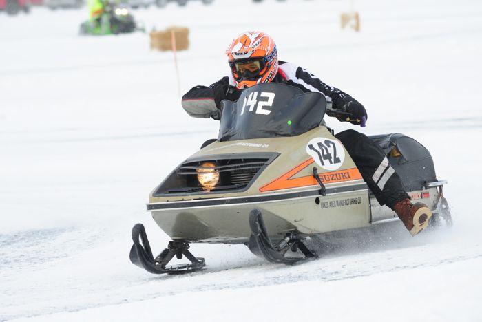 Detroit Lakes vintage XC racing. Photo by ArcticInsider.com